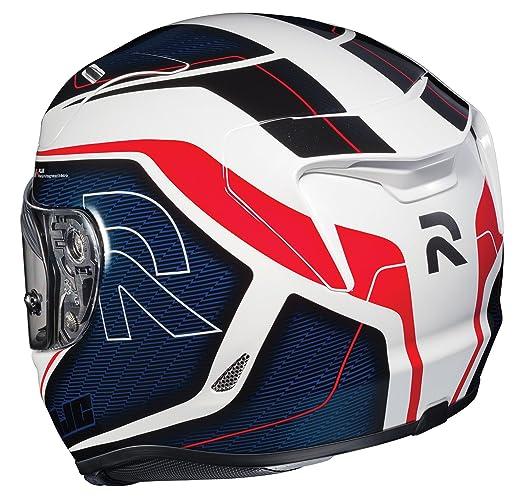 HJC Helmets Unisex-Adult Full-Face-Helmet-Style RPHA-11 Pro Darter Helmet MC-21 Red//White//Blue, Large