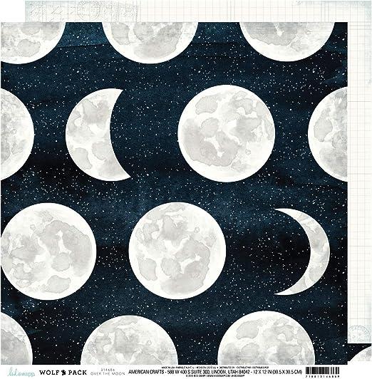 American Crafts Heidi Swapp Wolf Pack de cartulina de doble cara, 30,5 x 30,5 cm: Amazon.es: Hogar