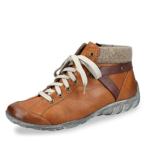 best buying cheap temperament shoes Rieker Damen Stiefeletten L6527, Frauen Schnürstiefelette