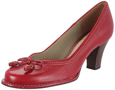 reputable site 1333f 4caea Clarks Bombay Lights Pumps Womens Red Rot (Cherry Red) Size ...