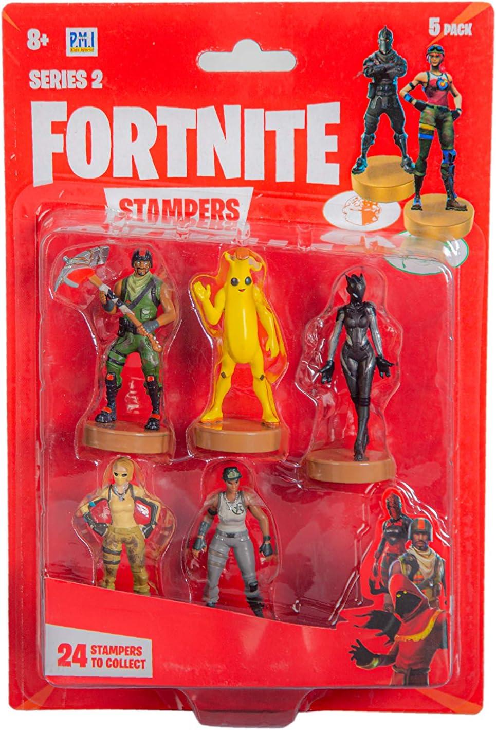 Epic Games Fortnite Stampers Series 2 5 Pack Figuras - Selección Ramdom: Amazon.es: Juguetes y juegos