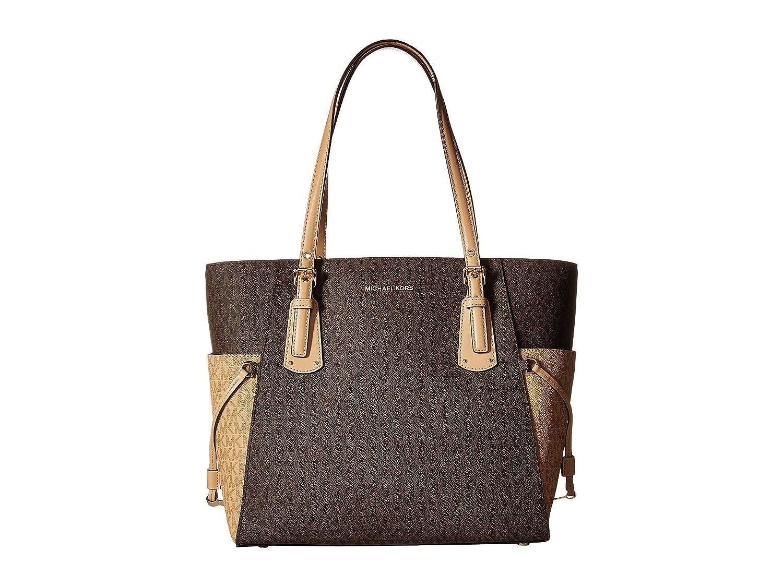 cba1b1c0bcdd98 MICHAEL Michael Kors - Jet Set Travel Donna, marrone  (Brown/Butternut/Gold), Small: Amazon.it: Scarpe e borse
