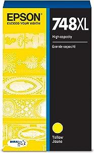 Epson DURABrite Pro T748XL420 Ink Cartridge - High Capacity Yellow