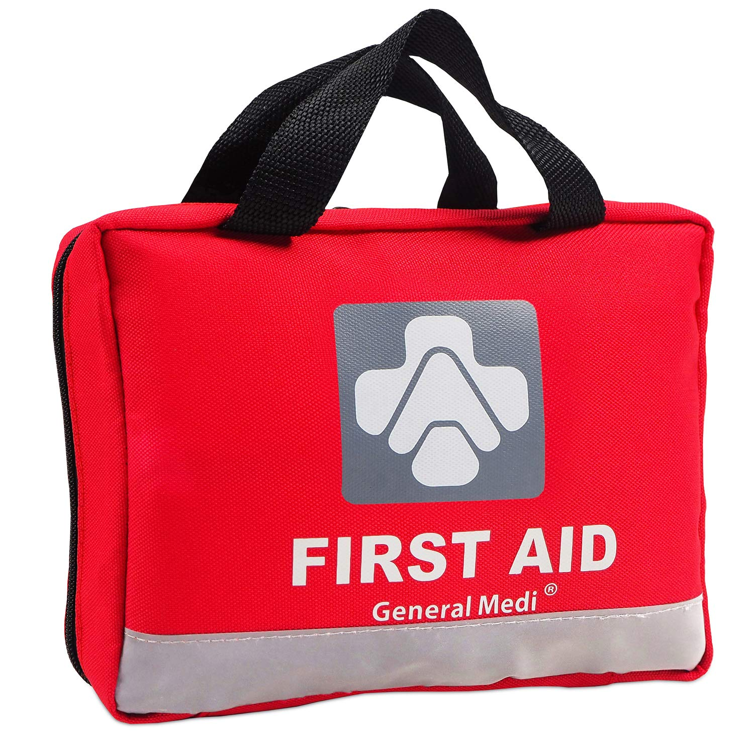 Amazon Deluxe First Aid Kit 309 Pieces Reflective Bag Design