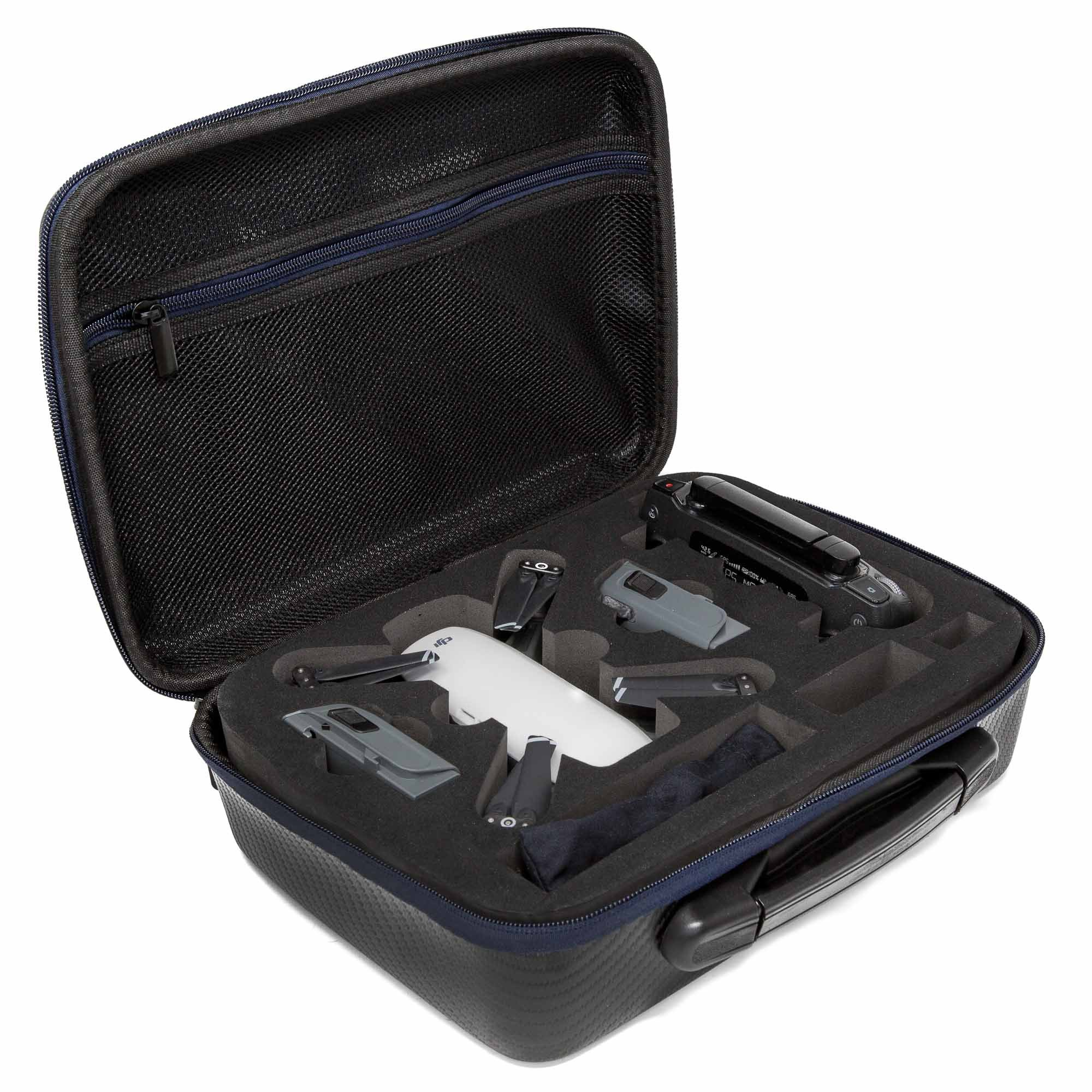 Ultimaxx Water-Resistant Rugged Hard Shell Compact Storage Case for DJI Spark Drone and Accessories