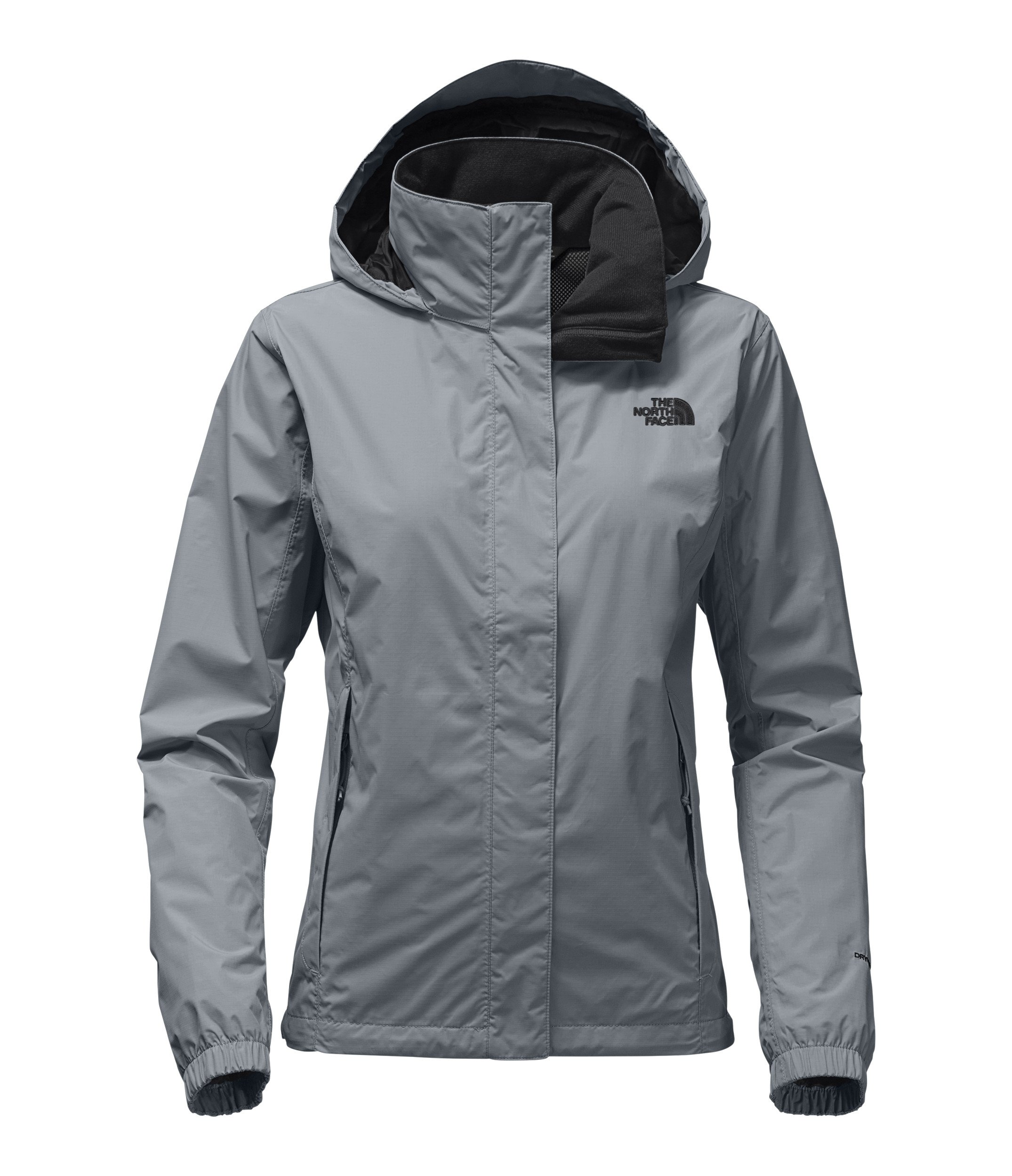 The North Face Women Resolve 2 Jacket - Mid Grey & TNF Black - M by The North Face (Image #1)