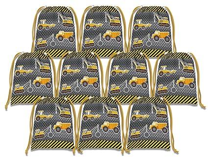 Amazon.com: Construcción camiones bolsas de cordón niños ...