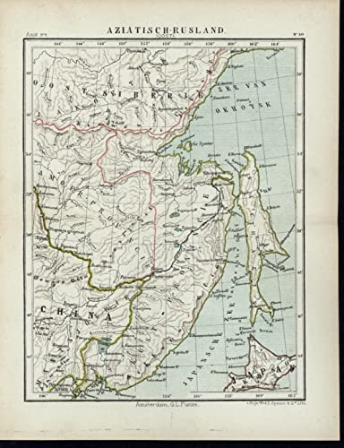 Eastern Russia Manchuria Hokkaido Japanese Sea 1880's scarce ... on persia map, nanking massacre, hainan map, sweden map, empire of japan, russo-japanese war, kazakhstan map, gobi desert map, new guinea map, shenyang map, austria map, asia map, great wall of china, second sino-japanese war, beijing map, first sino-japanese war, ming dynasty, inner mongolia, formosa map, china map, pakistan map, xinjiang map, sakhalin map, pearl harbor map, abyssinia map, angola map, qing dynasty, great wall map, japanese invasion of manchuria, nicaragua map,
