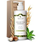 Tree To Tub Lotion for Sensitive Skin - pH 5.5 Balanced, Fragrance Free Lotion with Organic Shea Butter, Cocoa Butter, Aloe V