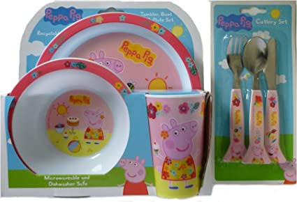 Couverts Peppa pig