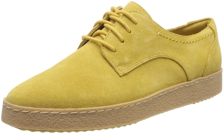 Clarks Damen Lillia Lola Sneaker Sneaker Lola Gelb (Yellow Suede) 6d84de