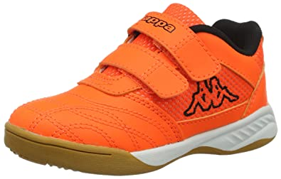 4282feb33 Kappa Indoor Kickoff Children's Indoor Shoes Orange/Black 260509K, Shoe  Size:EUR 32