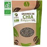 Graines de Chia Bio - 500gr (Salvia hispanica)