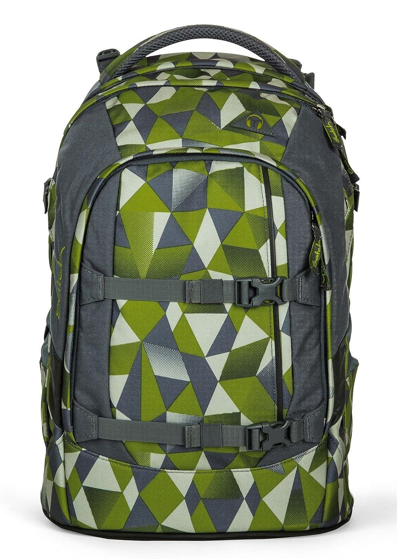 Satch pack Grün Crush 4er Set Schulrucksack, Schlamperbox, Stylerbox & Regencape Schwarz B076D7YK3M | New Products  | Verschiedene aktuelle Designs  | Leicht zu reinigende Oberfläche