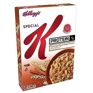 Special K Cereal Protein Cinnamon Brown Sugar Crunch, 10.8 oz