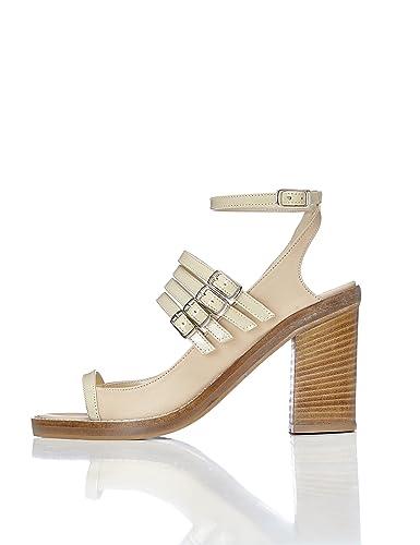 6061261ed42c FIND Sandales À Brides Multiples Femme: Amazon.fr: Chaussures et Sacs