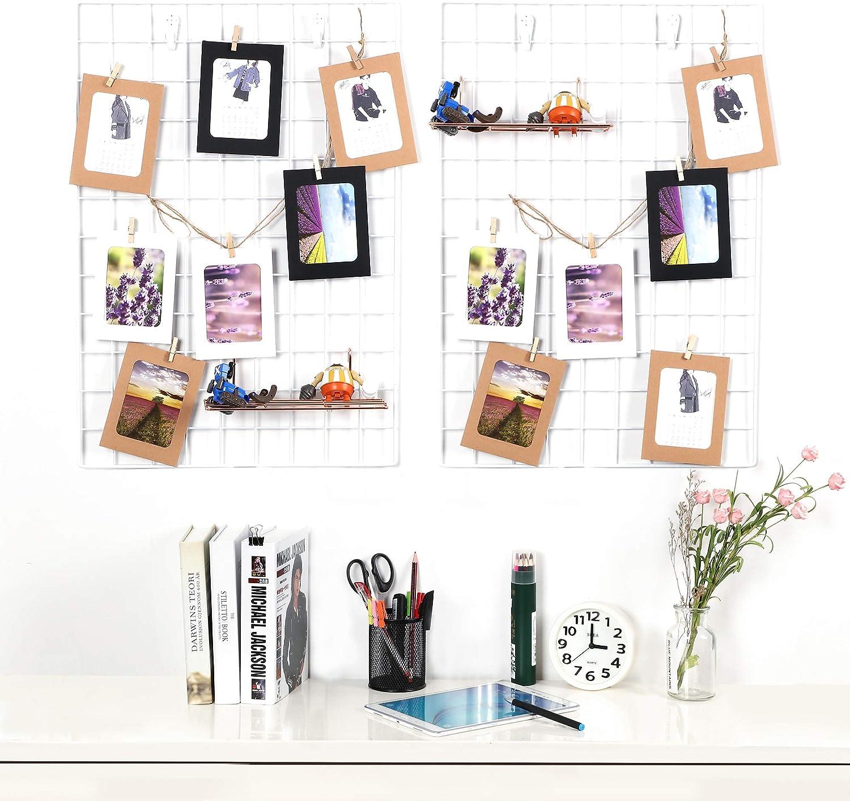 colinsa ferro Foto Parete Grid Wall Foto Parete decorazione fai da te camera da letto salotto ufficio A 45 x 65 cm