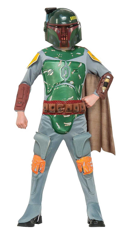 Amazon.com: Star Wars Boba Fett Deluxe Child Costume (Small): Toys ...
