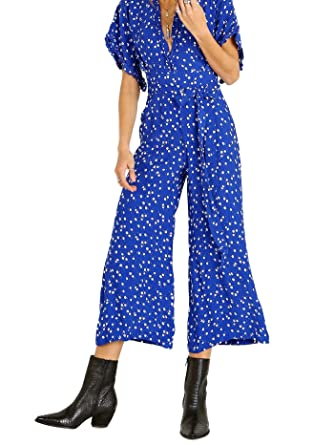 42901dab048a Amazon.com  Faithfull The Brand Women s La Villa Jumpsuit  Clothing