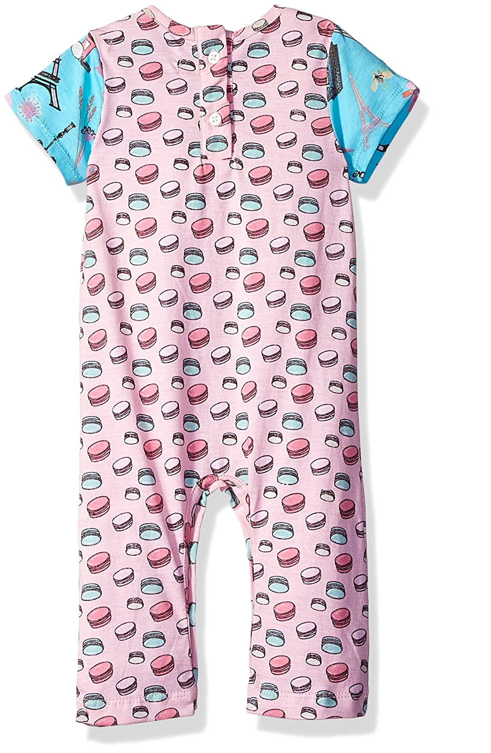 Jelly the Pug Baby Girls Anna Romper