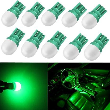 Alla iluminación 10pcs de alta potencia 2 W Super brillante bombillas LED 194 168 2825 W5