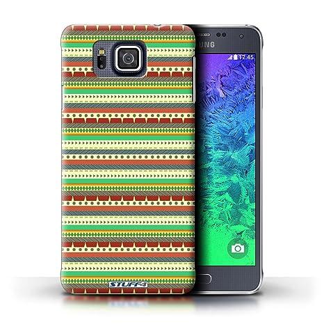 Carcasa/Funda STUFF4 dura para el Samsung Galaxy Alpha ...