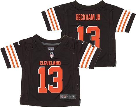 Nike NFL Cleveland Browns Odell Beckham Jr. Infant 12-24 Months Team Jersey, Brown