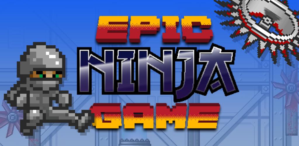 Epic Ninja Game - Pixel Art Retro Fast Paced 2D Platformer ...