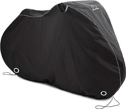 Black Heavy Duty Waterproof Bicycle Bike Cover Outdoor Rain Protector For 3 Bike