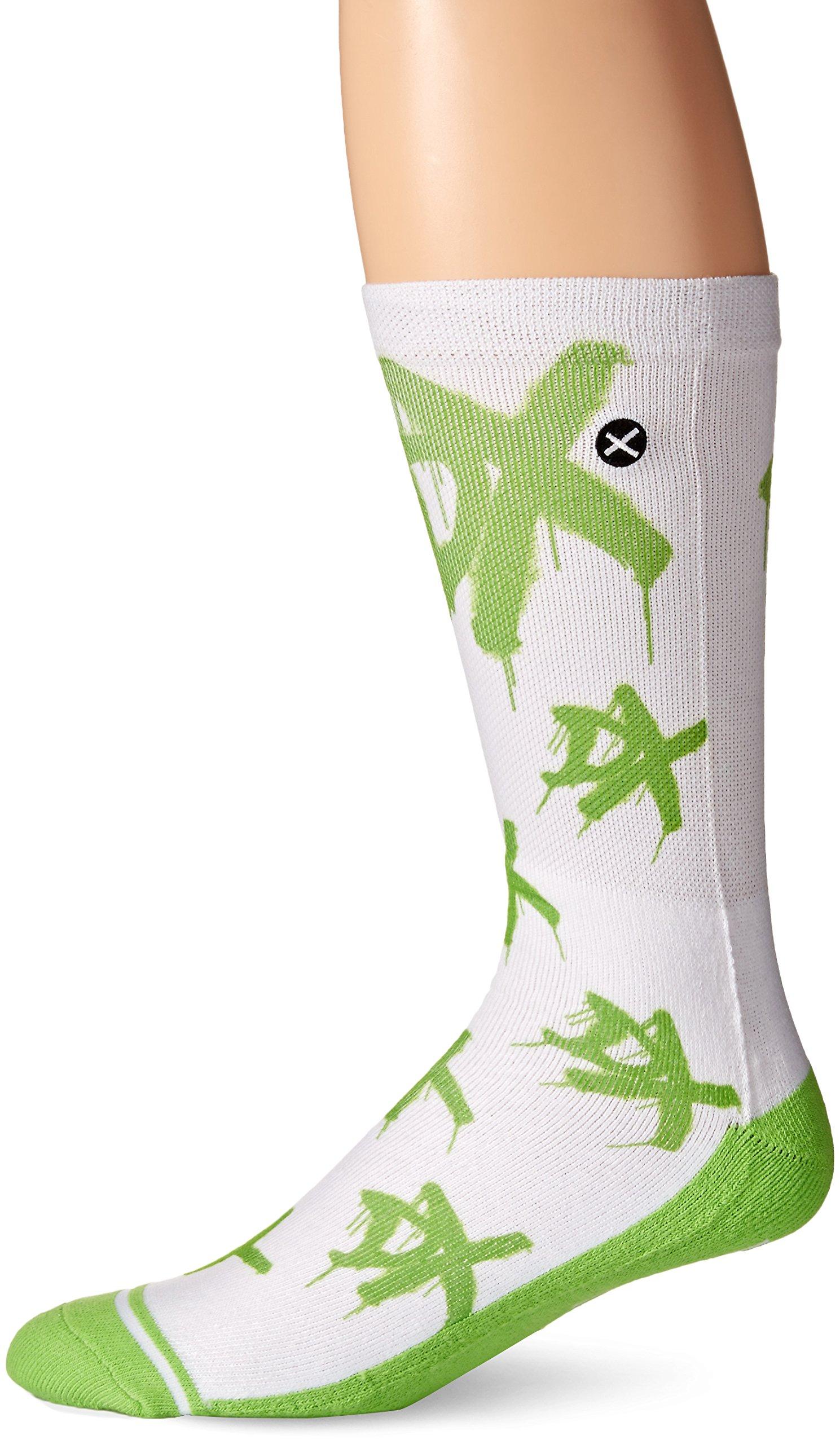 Odd Sox Men's DX, Multi, Sock Size:10-13/Shoe Size: 6-12