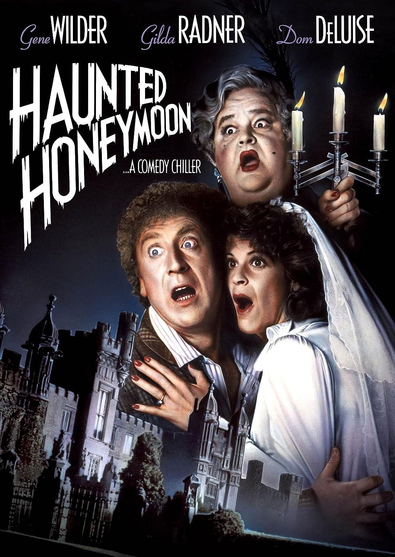 Haunted honeymoon Gene Wilder vintage movie poster