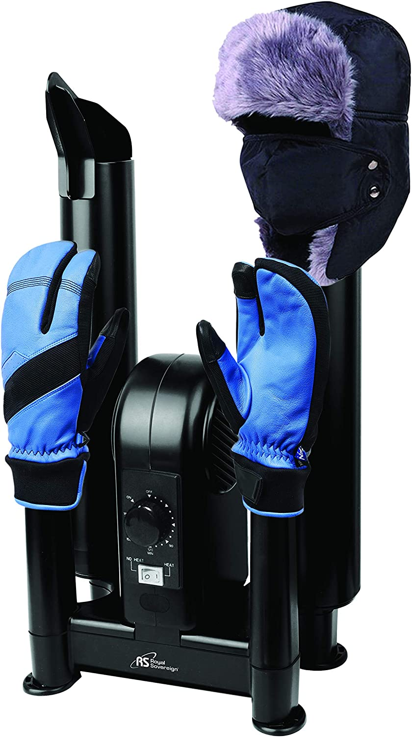 HBD-200 Mitten Dryer /& Warmer Glove Hat Royal Sovereign Portable Electric Forced Air Boot