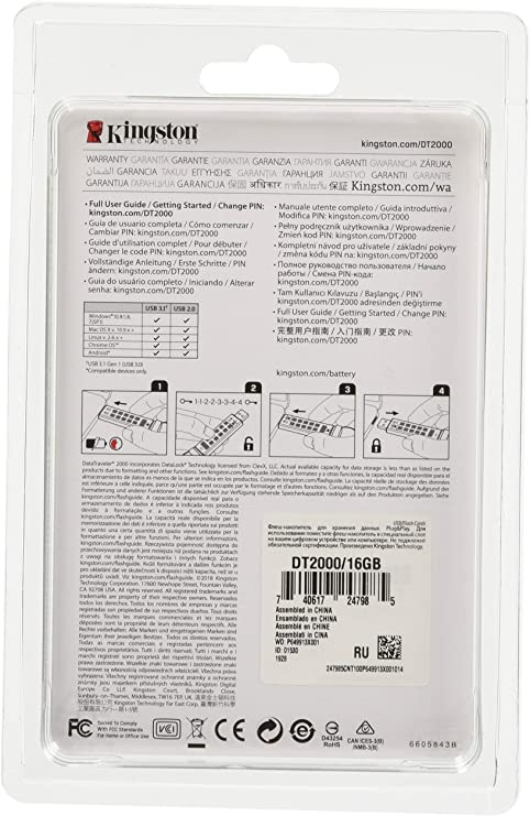 Kingston Datatraveler 2000 Dt2000 Computer Zubehör