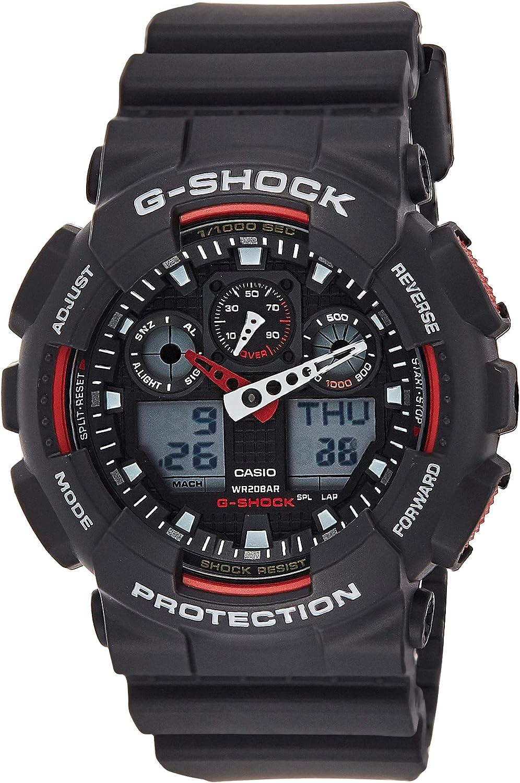 Casio G-Shock Ana-digi World Time Black Dial Men's watch #GA100-1A4 81tyPYtty4LUL1500_