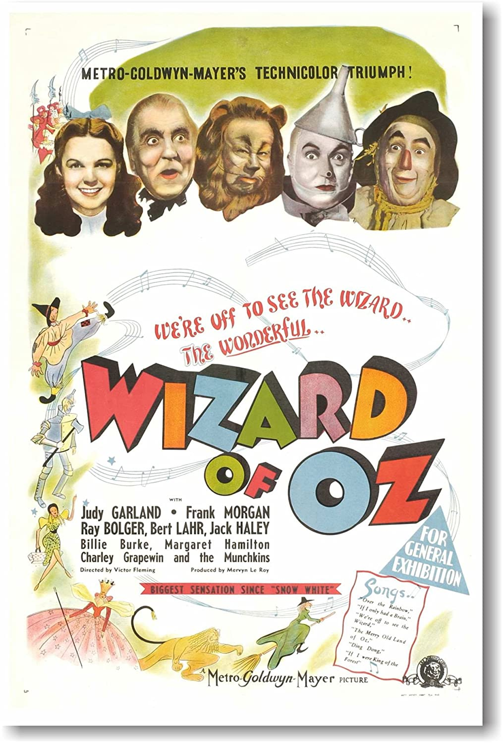 Wizard of Oz 2 - NEW Vintage Movie Poster