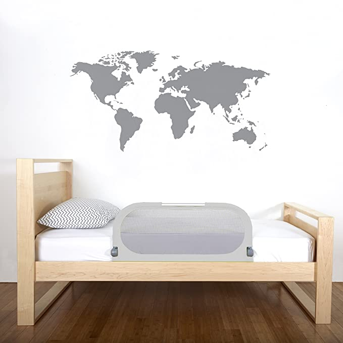 Amazon.com: Munchkin Dormir cama Rail, gris: Baby