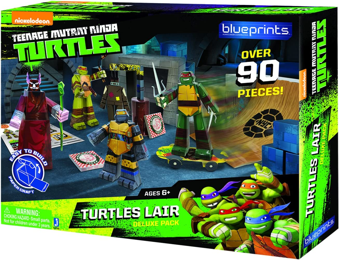 TMNT Blueprints- Turtles Lair Deluxe Pack