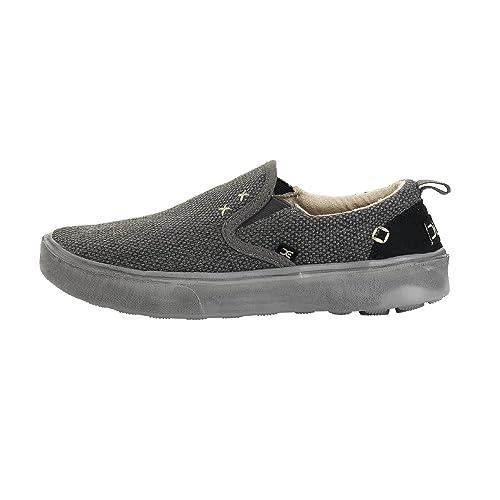 Dude Shoes Men's Kola Oceano Canvas Deck Shoe UK9 / EU43 UwYmK694u
