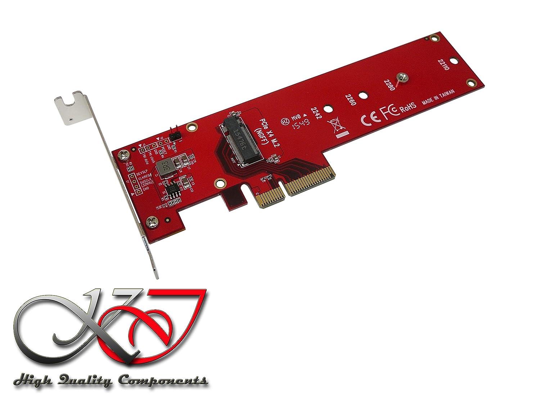 KALEA-INFORMATIQUE-Tarjeta controladora PCIe© alta velocidad x4 tipo PCIe 3,0 para SSD de tipo M.2 compatible con PCIe 3,0 x4 NVMe o M2-gama AHCI PCIe PCI, PCIe y profesional Componentes de alta calidad y prácticos Préinstallés, p