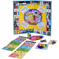 Fun Villa Big Business Monopoly Board Game with Plastic Money