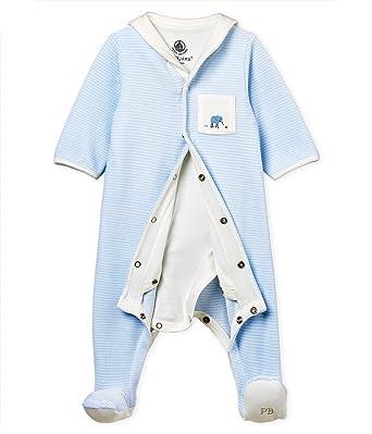 la mejor actitud 0f5a3 57b8d Petit Bateau Pelele para Dormir Unisex bebé: Amazon.es: Ropa ...