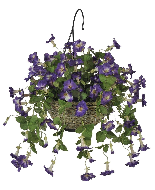 Amazon.com: House of Silk Flowers Artificial Lavender Petunia ...