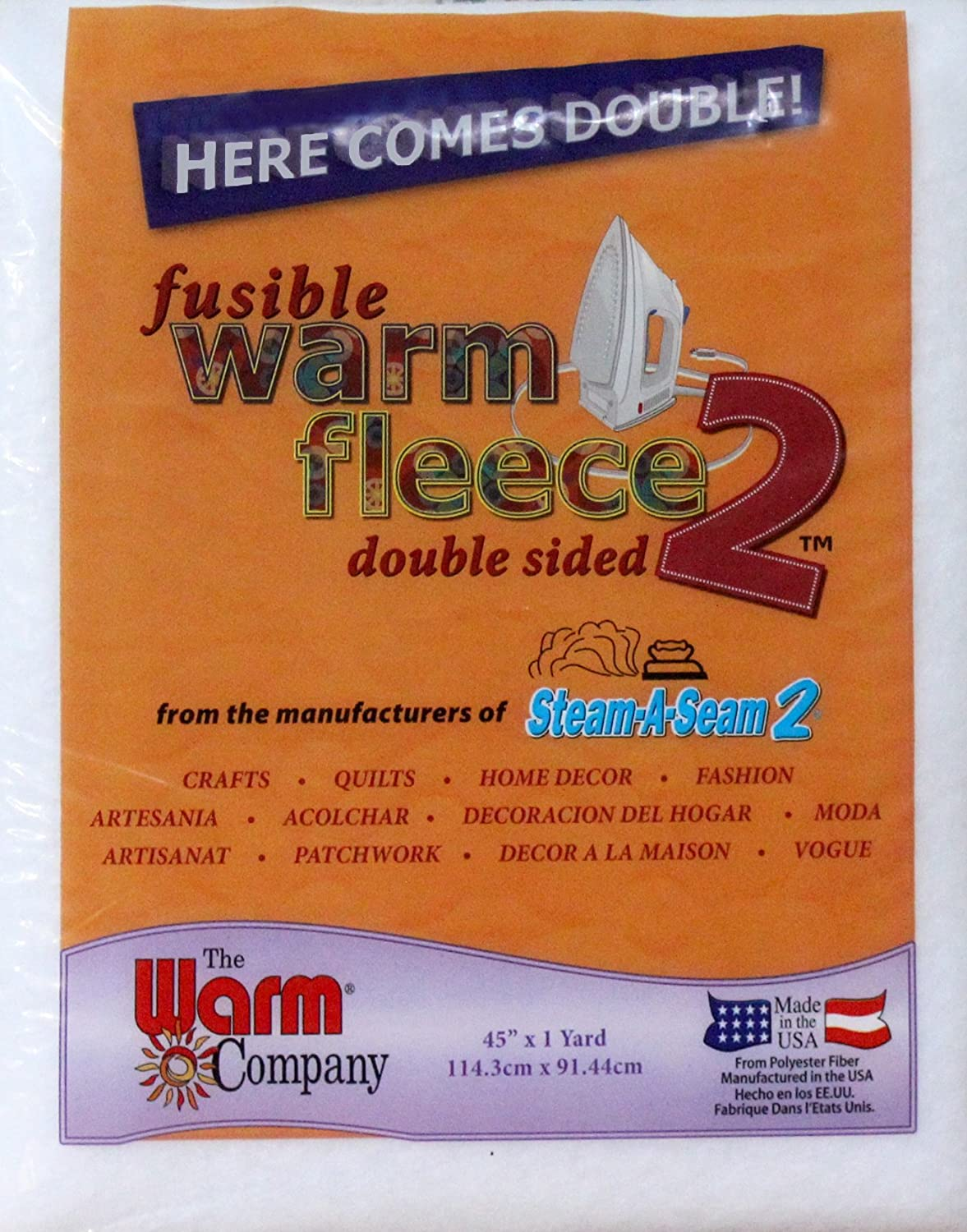 Warm Fusible Fleece 2 Warm Company 1882