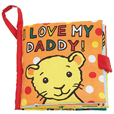 Jellycat Little Soft Baby Book I Love My Daddy : Baby Touch And Feel Toys : Baby
