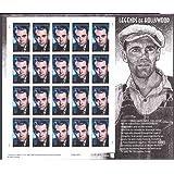 Henry Fonda: Legends of Hollywood, Full Sheet of 20 x 37 Cent Stamps, USA 2005, Scott 3911