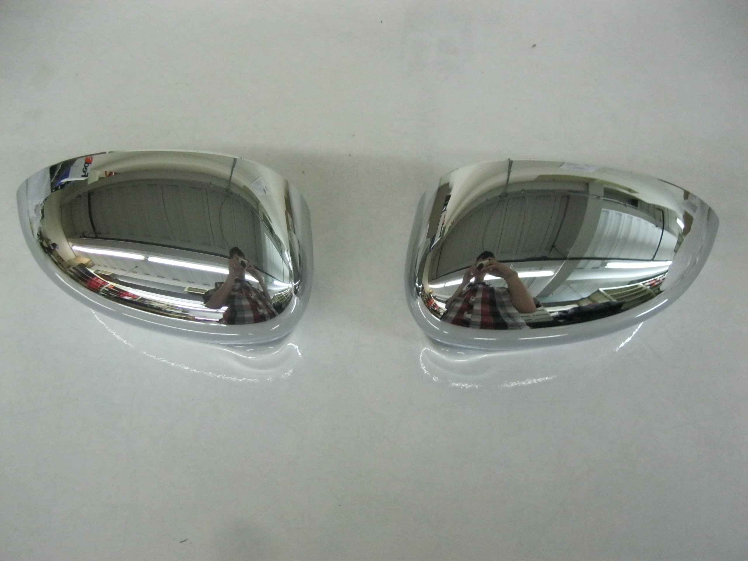 Fiat 500 Chrome Mirror Covers 82212366