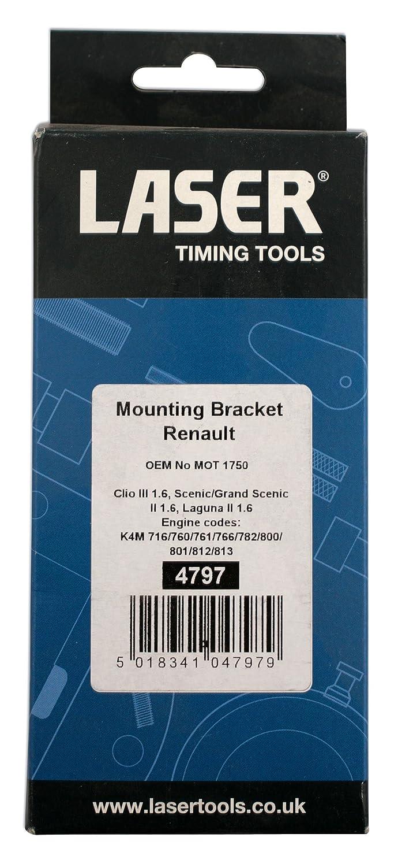 Amazon.com: Láser 4797 soporte de montaje para Renault ...