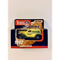 $49 » White Rose Matchbox 1992 NFL GREEN BAY Diecast Sedan 1:64 Scale Collectible Limited Edition Football Team Car - PACKERS