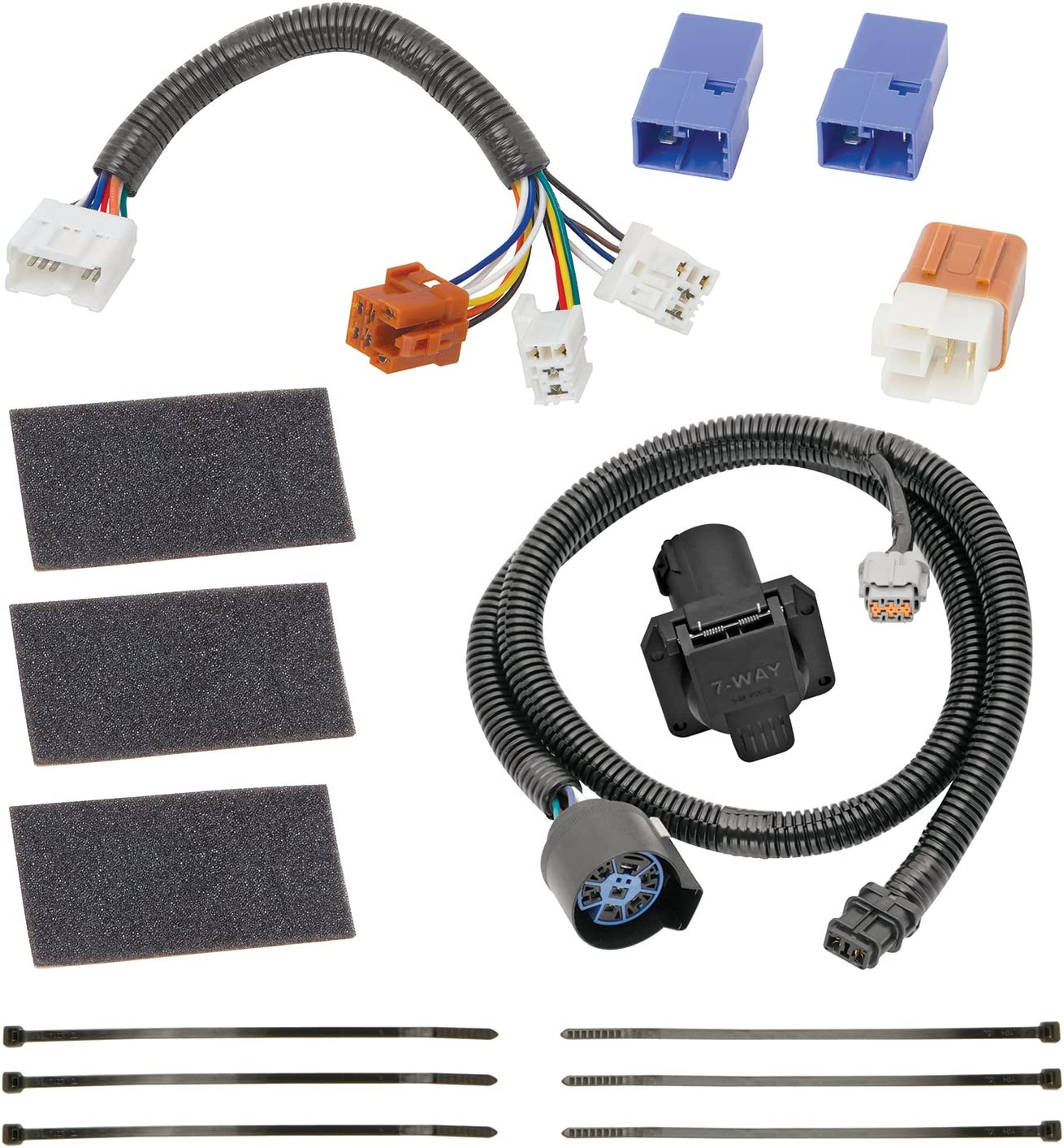 Amazon.com: Tekonsha 118266 7-Way Tow Harness Wiring Package: Automotive | 2014 Nissan Frontier Trailer Wiring Harness |  | Amazon.com