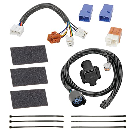 Amazon.com: Tekonsha 118266 7-Way Tow Harness Wiring Package ... on 7 wire wiring, 7 wire plug, 7 wire cable, 7 wire hose, 7 wire motor, 7 wire coil,